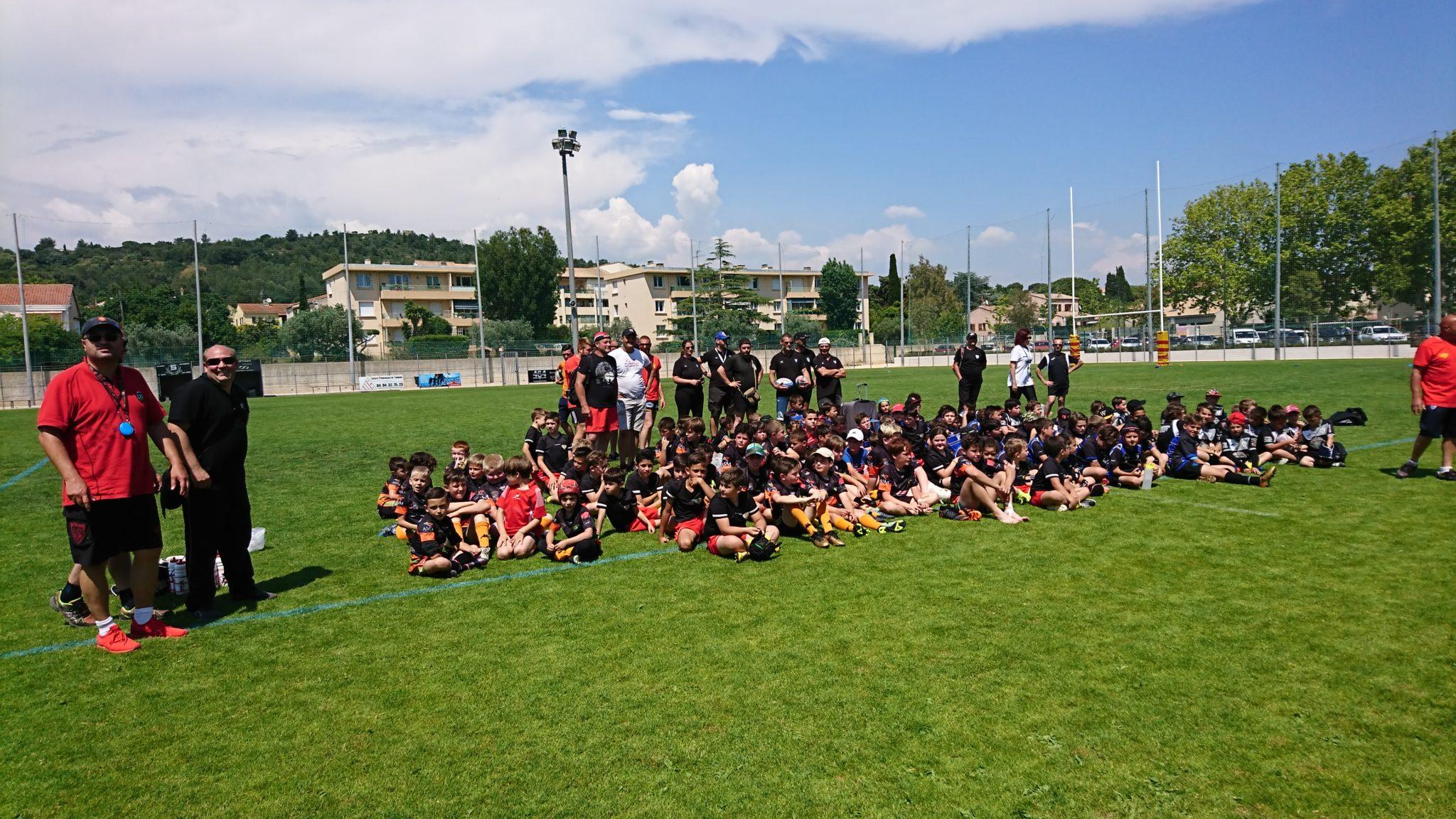 Premier tournoi des jeunes de l'Ecole de Rugby du RCSFLB